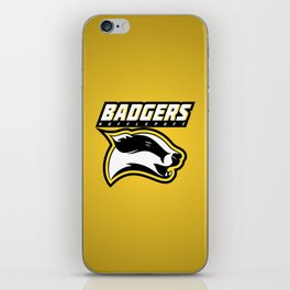 Badgers Hufflepuff  iPhone Skin