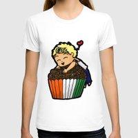 niall T-shirts featuring Cupcake Niall by Barbara