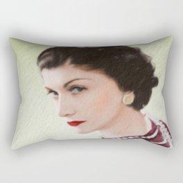Coco - Fashion Icon Rectangular Pillow