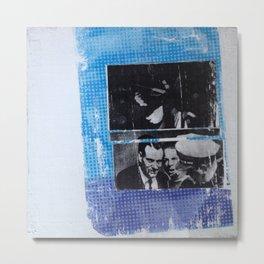 OSWALD/HALF TONE Metal Print