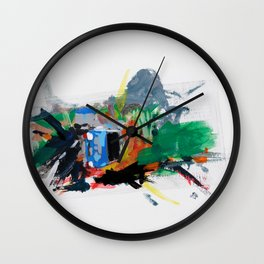 Accident three Wall Clock