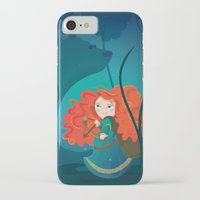 brave iPhone & iPod Cases featuring Brave by Maria Jose Da Luz