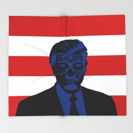 Trump Lives Throw Blanket