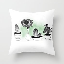 Bello cacuS Throw Pillow