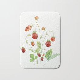 Wild Strawberries Bath Mat