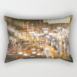 City nights, city lights Rectangular Pillow