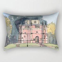 Red Mount Chapel Kings Lynn England Rectangular Pillow