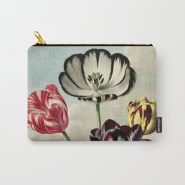 Tulips : Temple of Flora of New illustration of the sexual system of Carolus von Linnaeus Carry-All Pouch