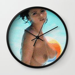 Beach Ball Wall Clock