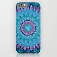 Mandala turquoise no. 2 Slim Case iPhone 6