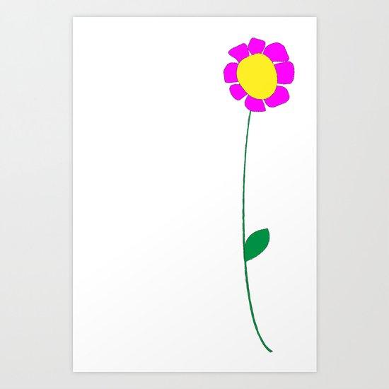 Flower 3 Art Print