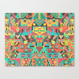 Schema 10 Canvas Print