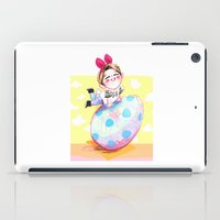 shinee iPad Cases featuring Ontokki SHINee Onew by sophillustration