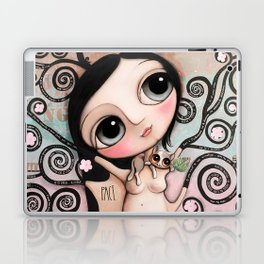 Tree of Life with the doll with big eyes and the animals Laptop & iPad Skin