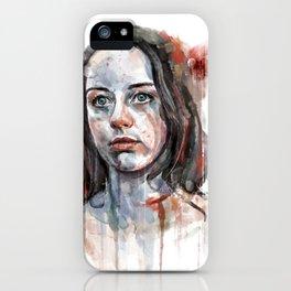 Abigail Hobbs iPhone Case
