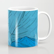 The moon over the mountains Mug