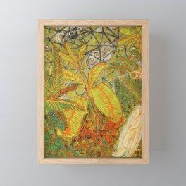 botanic garden Framed Mini Art Print