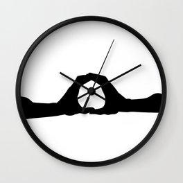 Letter O - GoldShade Wall Clock