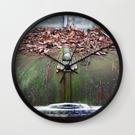 See The USA In Your Chevrolet Wall Clock