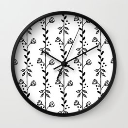 Leves and Bells Wall Clock