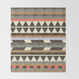 DG Aztec No.1 Throw Blanket