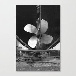 Shipyard Boat IV Canvas Print
