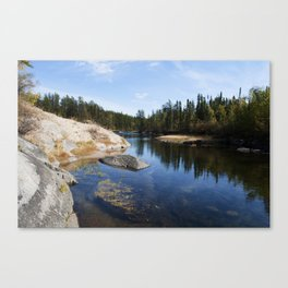 Northern Canadian Landscape Canvas Print