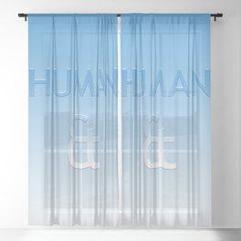 Human et – Humanity Colour Sheer Curtain
