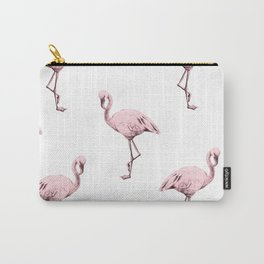 Simply Pink Flamingo in Pink Flamingo Carry-All Pouch