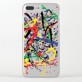 Pollock Remembered by Kathy Morton Stanion Clear iPhone Case