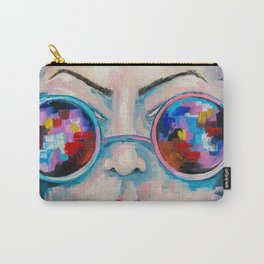 Girl in sunglasses Carry-All Pouch