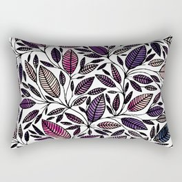 Floral Illustration - Leaf - No*45 Rectangular Pillow