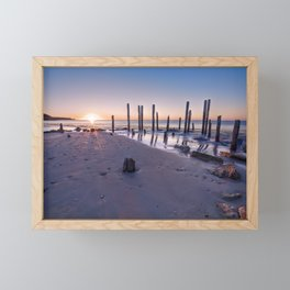 Port Willunga Sunset Framed Mini Art Print