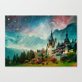 Faerytale Castle Canvas Print