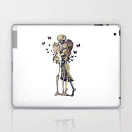 Always Kiss Goodnight Skeletons Laptop & iPad Skin