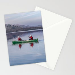 Green Canoe Stationery Cards