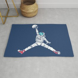 Space dunk Rug