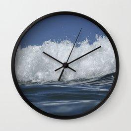 Wave Spill Wall Clock