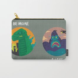 More Godzilla, Less King Kong Carry-All Pouch