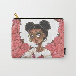 Sweetheart Rose Carry-All Pouch
