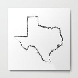 Texas State - Lone Star State Metal Print