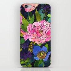 French Lavender & Roses iPhone & iPod Skin