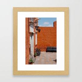 santa catalina p.2 Framed Art Print