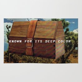 Known for it's Deep Color (Joshua Trees and Aaron Poritz Lunchbox) Rug