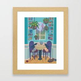 Cozy Nook Framed Art Print