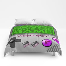 Don't Hate The Player, Hate The Game!  |  Video Game Comforters