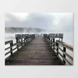 Tennesee River Morning Canvas Print