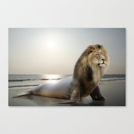 Sea . . . Lion Canvas Print