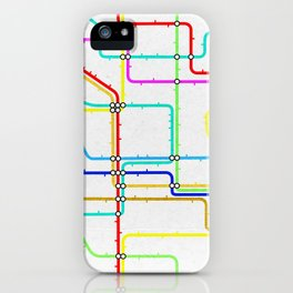London Tube Underground iPhone Case