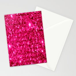 SparklE Hot Pink Stationery Cards